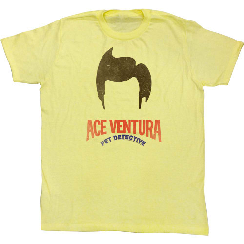 Image for Ace Ventura Pet Detective T-Shirt - Hair