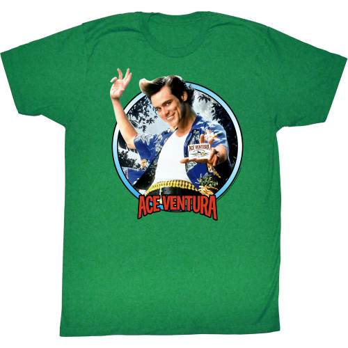 Image for Ace Ventura Pet Detective T-Shirt - Wisconsin