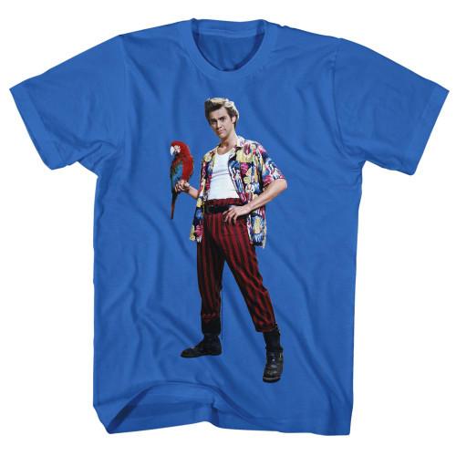 Image for Ace Ventura Pet Detective T-Shirt - Parrot
