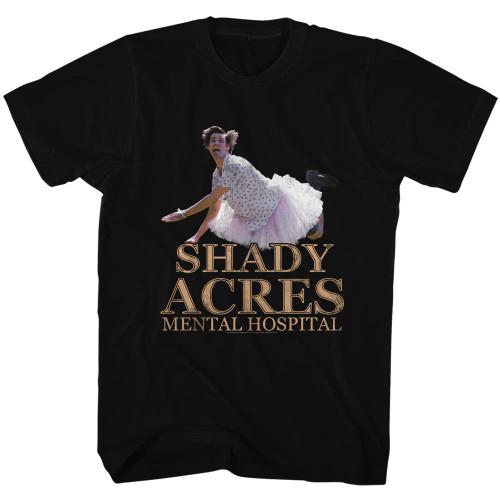 Image for Ace Ventura Pet Detective T-Shirt - Shady Acres Mental Hospital