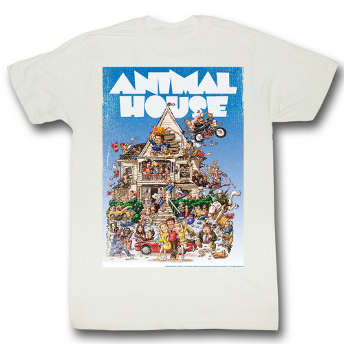 Image for Animal House T-Shirt - Poster Time