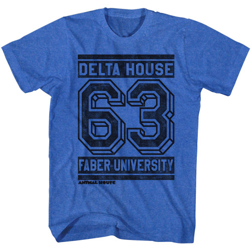 Image for Animal House T-Shirt - Delta House 63