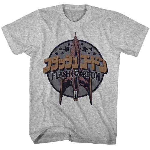 Image for Flash Gordon Alien Logo T-Shirt