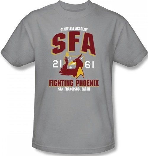 Image for Star Trek T-Shirt - Starfleet Academy SFA Fighting Phoenix