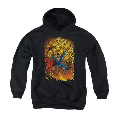 Image for Superman Youth Hoodie - Daily Planet Save