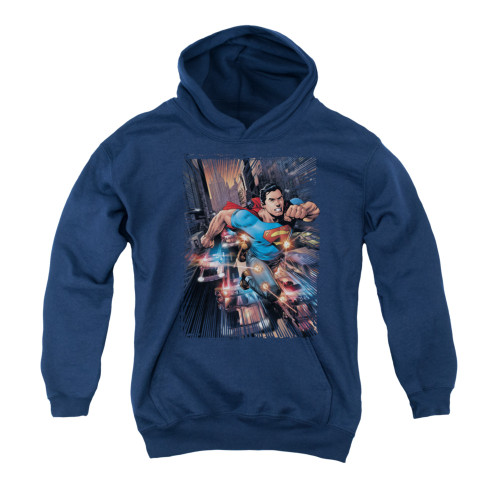 Image for Superman Youth Hoodie - Action Comics #1