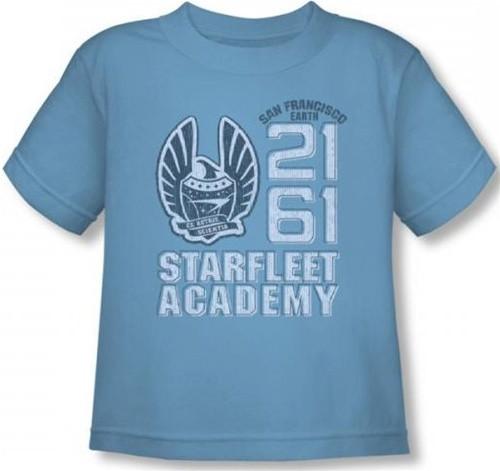 Image for Star Trek Toddler T-Shirt - Starfleet Academy 2161