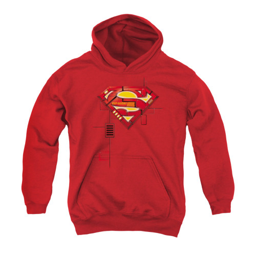 Image for Superman Youth Hoodie - Super Mech Shield
