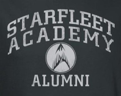 Image for Star Trek T-Shirt - Starfleet Academy Alumni