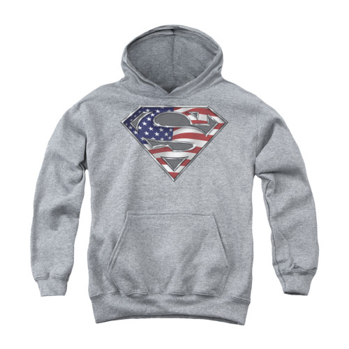 Image for Superman Youth Hoodie - All