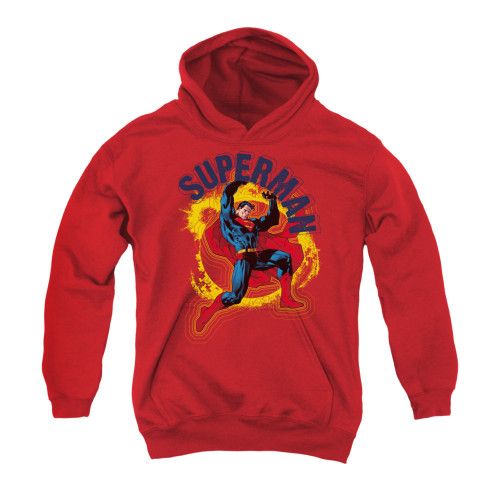 Image for Superman Youth Hoodie - A Name To Uphold