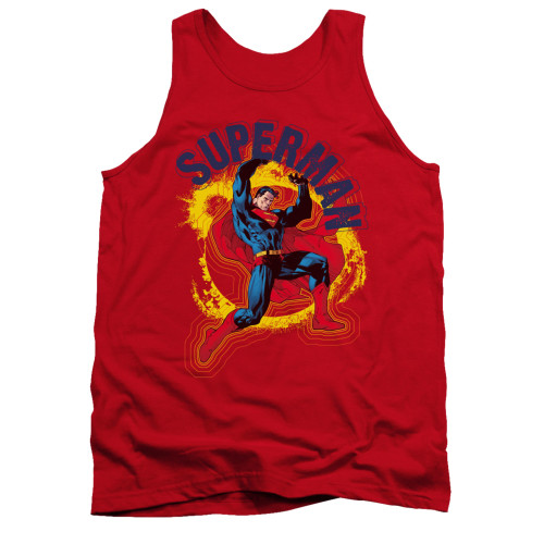 Image for Superman Tank Top - A Name To Uphold
