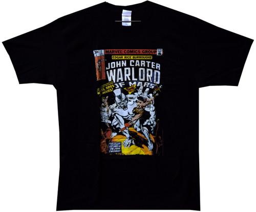 Image Closeup for John Carter of Mars Marvel #2 T-Shirt