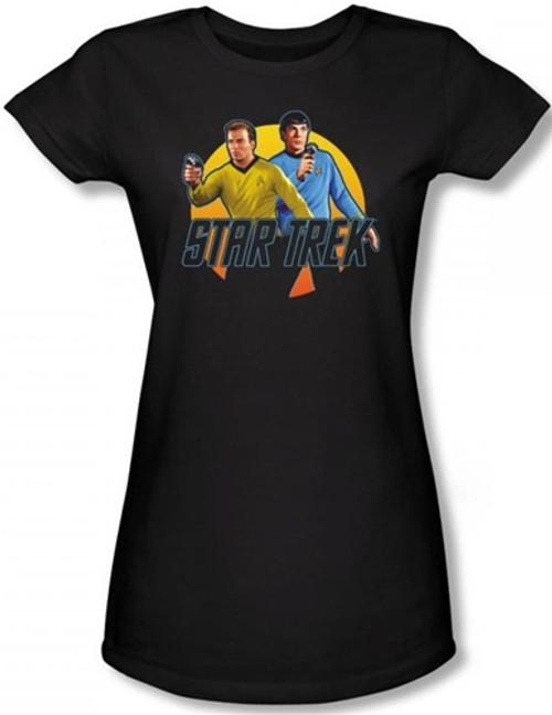 Image for Star Trek Girls T-Shirt - Phasers Ready