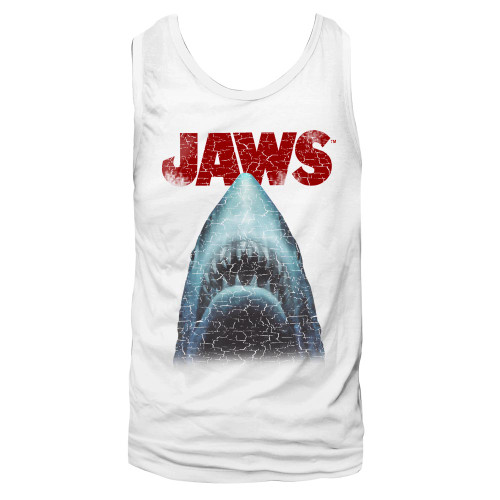 Image for Jaws Tank Top - Stressed
