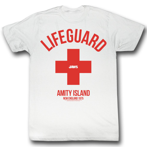 Image for Jaws T-Shirt - Amity Island Life Guard