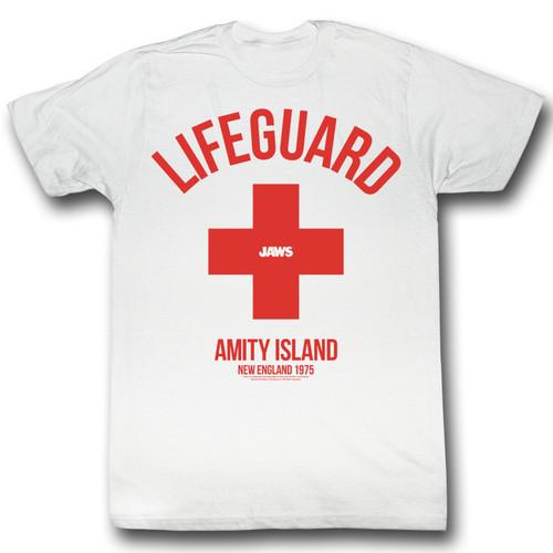 Image for Jaws T-Shirt - Amity Island Life Guard