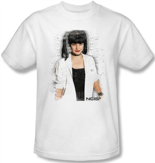 Image Closeup for NCIS Abby Skulls T-Shirt