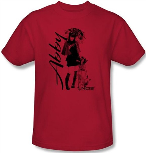 Image Closeup for NCIS Abby Sunny Day T-Shirt