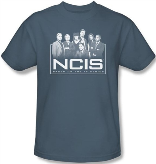 Image Closeup for NCIS The Gangs All Here T-Shirt