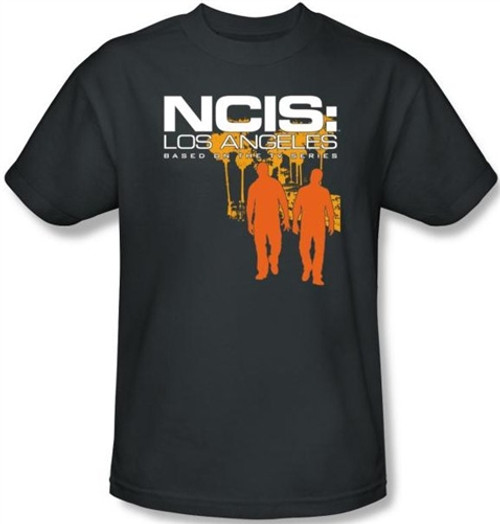 Image Closeup for NCIS: Los Angeles Slow Walk T-Shirt