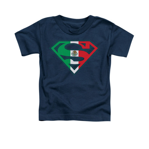 Image for Superman Toddler T-Shirt - Mexican Shield