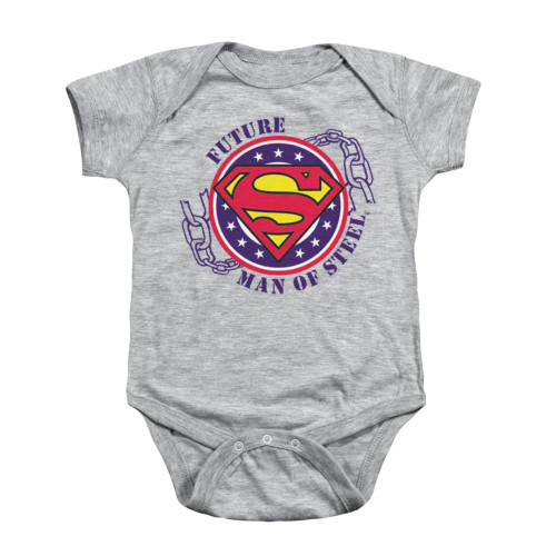 Image for Superman Baby Creeper - Future Man Of Steel
