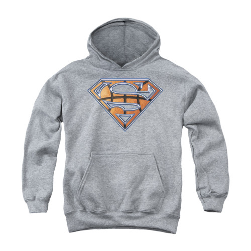 Image for Superman Youth Hoodie - Basketball Shield