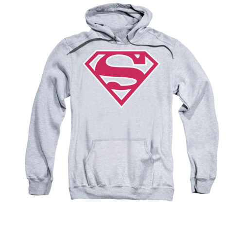 Image for Superman Hoodie - Red & White Shield