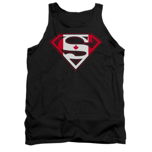Image for Superman Tank Top - Canadian Shield