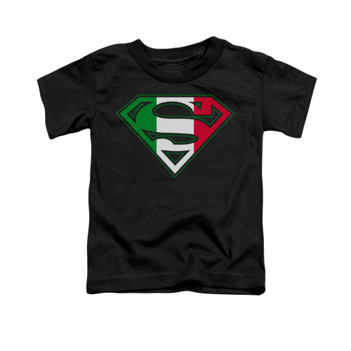 Image for Superman Toddler T-Shirt - Italian Shield
