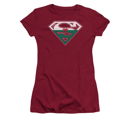 Image for Superman Girls T-Shirt - Welsh Shield