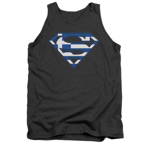 Image for Superman Tank Top - Greek Shield