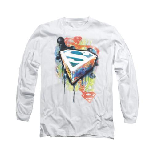 Image for Superman Long Sleeve Shirt - Urban Shields