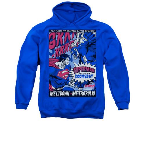 Image for Superman Hoodie - Meltdown