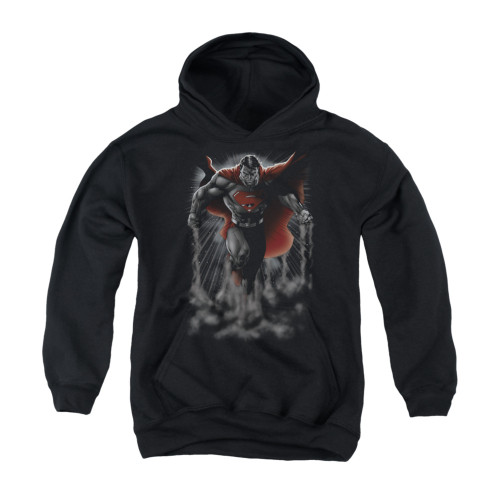 Image for Superman Youth Hoodie - Above The Clouds
