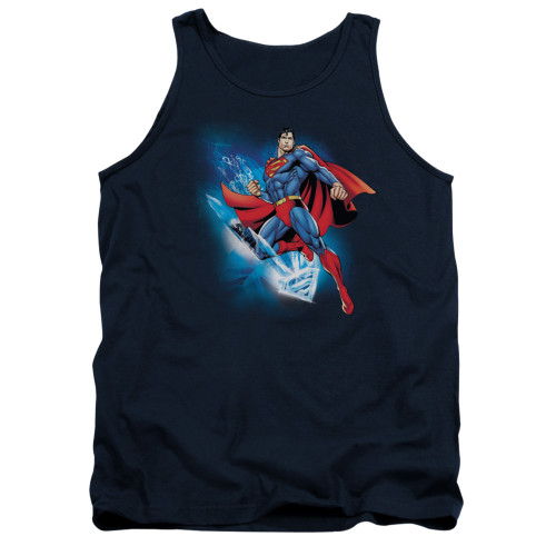 Image for Superman Tank Top - Crystallize