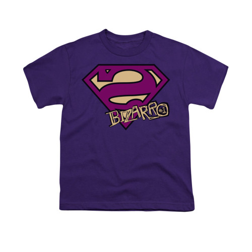 Image for Superman Youth T-Shirt - Bizarro Shield