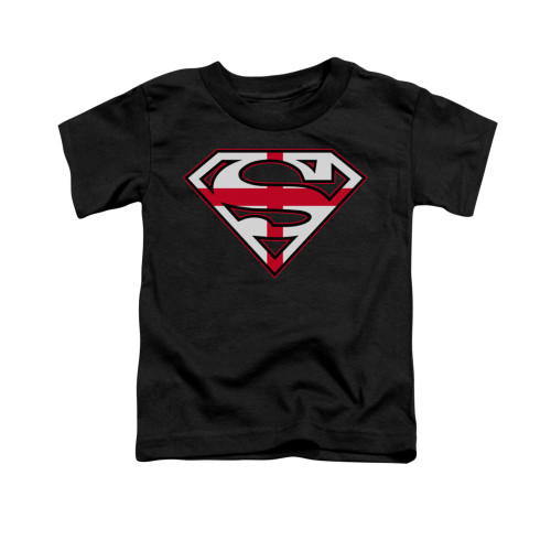 Image for Superman Toddler T-Shirt - English Shield