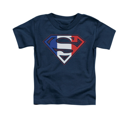 Image for Superman Toddler T-Shirt - French Shield