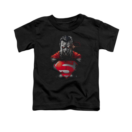 Image for Superman Toddler T-Shirt - Heat Vision Charged
