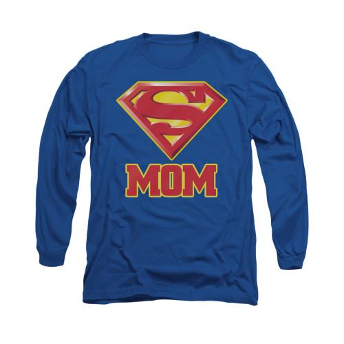 Image for Superman Long Sleeve Shirt - Super Mom