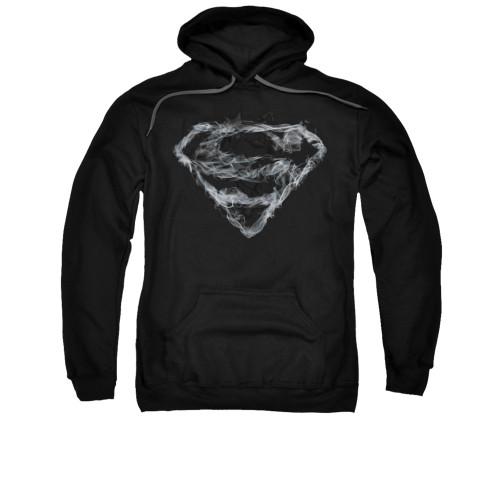 Image for Superman Hoodie - Smoking Shield