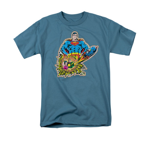 Image for Superman T-Shirt - Doomed Planet