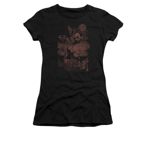 Image for Superman Girls T-Shirt - Somber Power