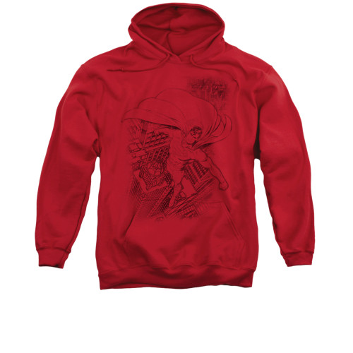 Image for Superman Hoodie - In The City