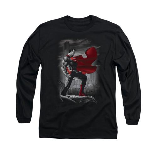 Image for Superman Long Sleeve Shirt - Metropolis Guardian