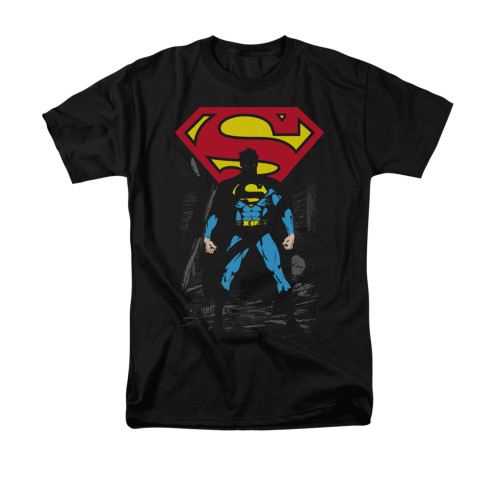 Image for Superman T-Shirt - Dark Alley