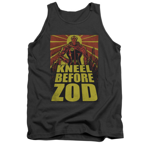 Image for Superman Tank Top - Zod Poster