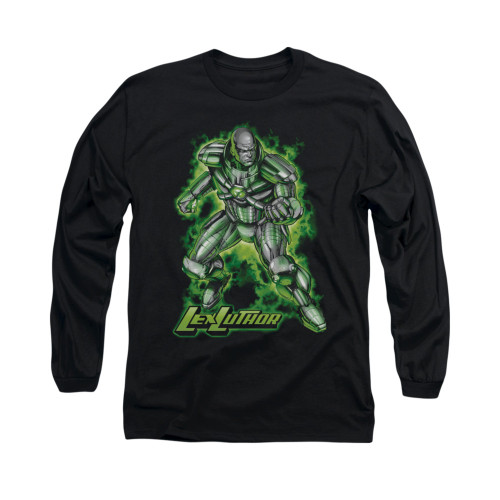 Image for Superman Long Sleeve Shirt - Kryptonite Powered